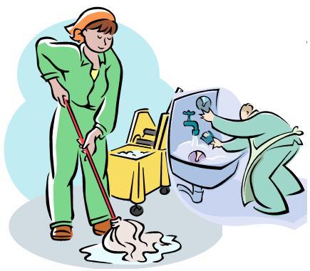 Limpieza personal dibujos imagui Metodos de limpieza y desinfeccion en el area de cocina